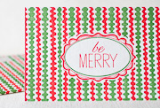 be-merry-letterpress folded-card
