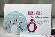 igloo-boxed-letterpress-folded-cards