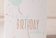 belated-birthday-balloon-letterpress and foil-folded-card
