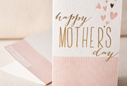 heartfelt-mothers-day-letterpress and foil-folded-card