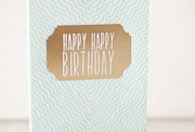 gazar-birthday-letterpress and foil-folded-card