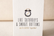 like-saturdays-letterpress and foil-folded-card