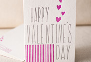 valentines-hearts-letterpress and foil-folded-card