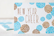 happy-new-year-letterpress and foil-folded-card