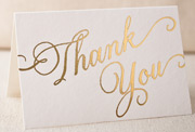 thank-you-script-foil-folded-card