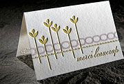 Letterpress cards, letterpress greeting cards, eco gift wrap | Smock