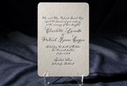 the altar wedding invitation is part of Smock's letterpress & foil collection. free shipping, free c