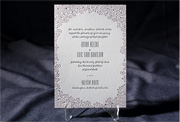the aneto wedding invitation is part of Smock's letterpress & foil collection. free shipping, free c
