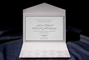 the burstell wedding invitation is part of Smock's letterpress & foil collection. free shipping, fre