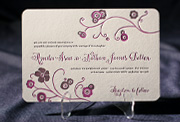 the delano wedding invitation is part of Smock's letterpress & foil collection. free shipping, free