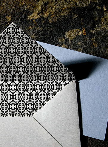 the chasseral wedding invitation is part of Smock's letterpress & foil collection. free shipping, fr