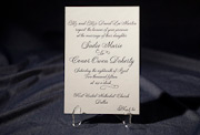 the fitzroy wedding invitation is part of Smock's letterpress & foil collection. free shipping, free