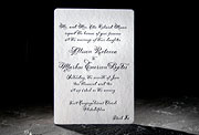 the haddington wedding invitation is part of Smock's letterpress & foil collection. free shipping, f