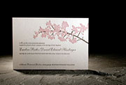 the kurai wedding invitation is part of Smock's letterpress & foil collection. free shipping, free c