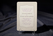 the palmes-custom wedding invitation is part of Smock's letterpress & foil collection. free shipping