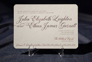 the palmes wedding invitation is part of Smock's letterpress & foil collection. free shipping, free