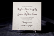 the piedmont wedding invitation is part of Smock's letterpress & foil collection. free shipping, fre