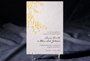 the robson wedding invitation is part of Smock's letterpress & foil collection. free shipping, free